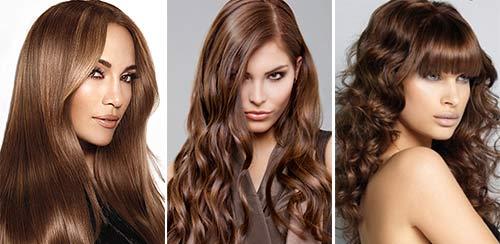 Braune Haarfarbe Modeschatten Curpurru