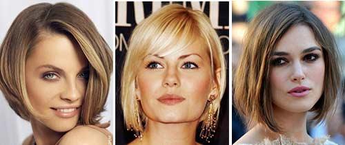 Modische Damenhaarschnitte Für Ein Quadratisches Gesicht Curpurru