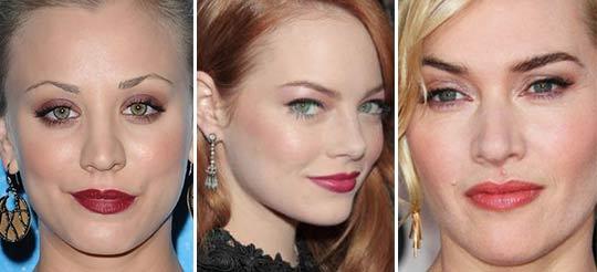 grün pink schminken